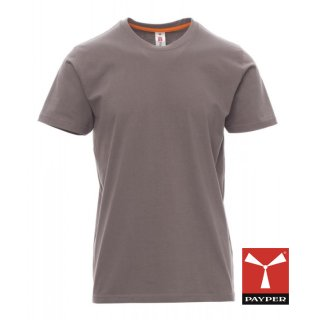 "Payper T-Shirt ""Sunrise"" stahlgrau"