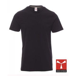 "Payper T-Shirt ""Sunrise"" schwarz"